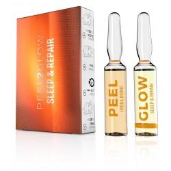 Peel2Glow Hydrabionic & Sleep&Repair (kit 2 amp)