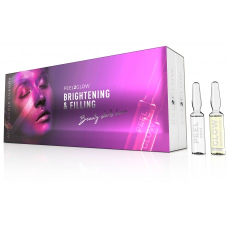 Peel2Glow Purifyer & Brightening&Filling (kit 20 amp)